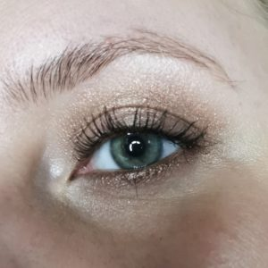 Makeup with Tom Ford First Frost
