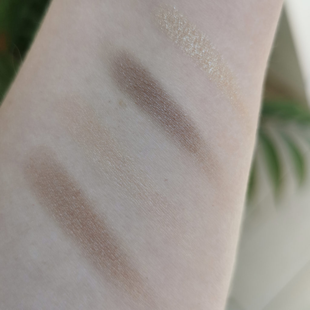 Chantecaille Butterfly Eye Quartet swatches