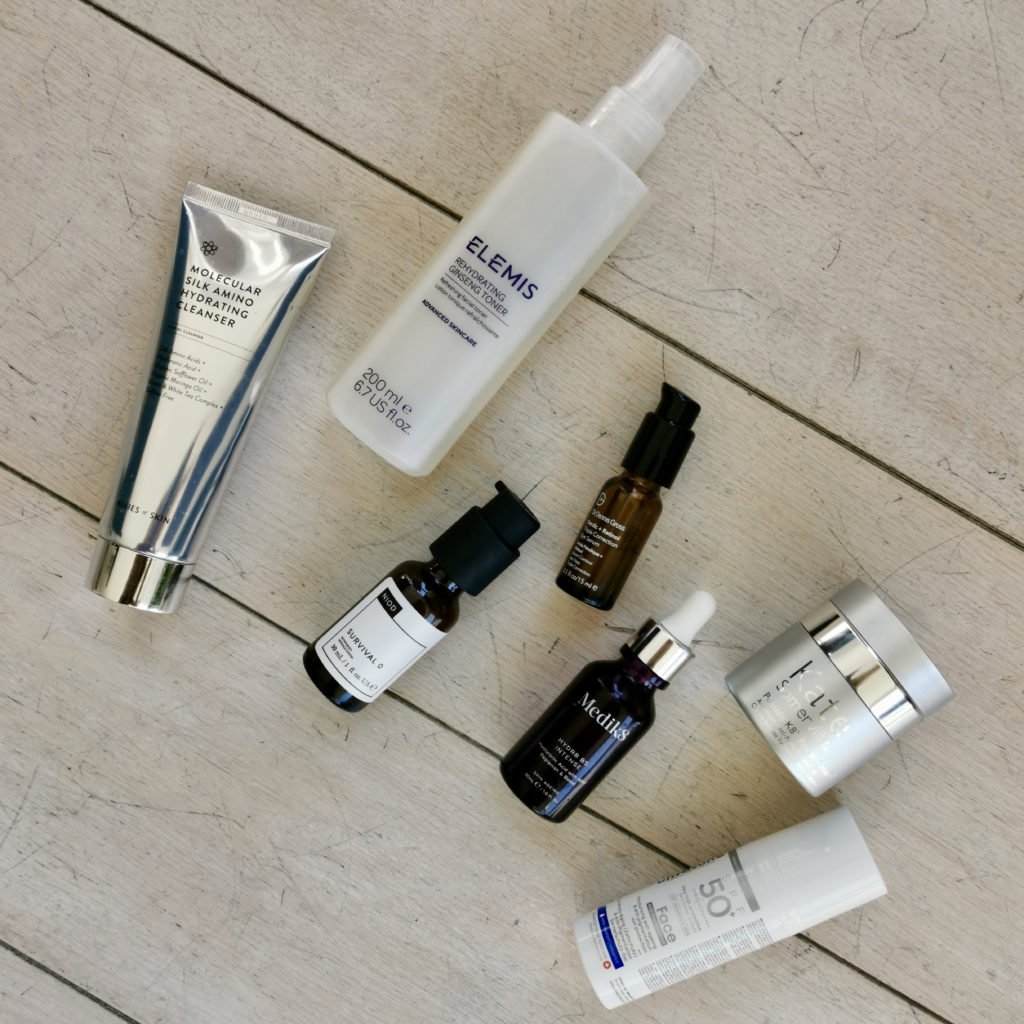 Morning skincare routine with Kate Somerville Peptide K8
