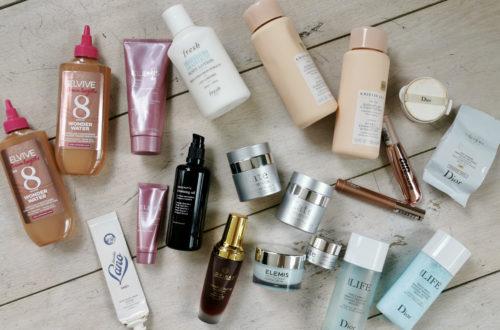 Skincare empties April 2021